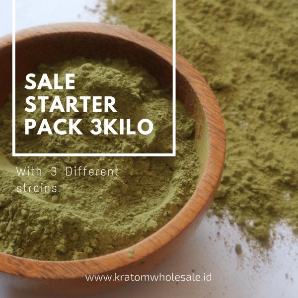 Starter Pack Kratom wholesale